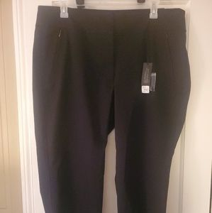 NWT Lane Bryant Woman's 22 Black Trouser Pants